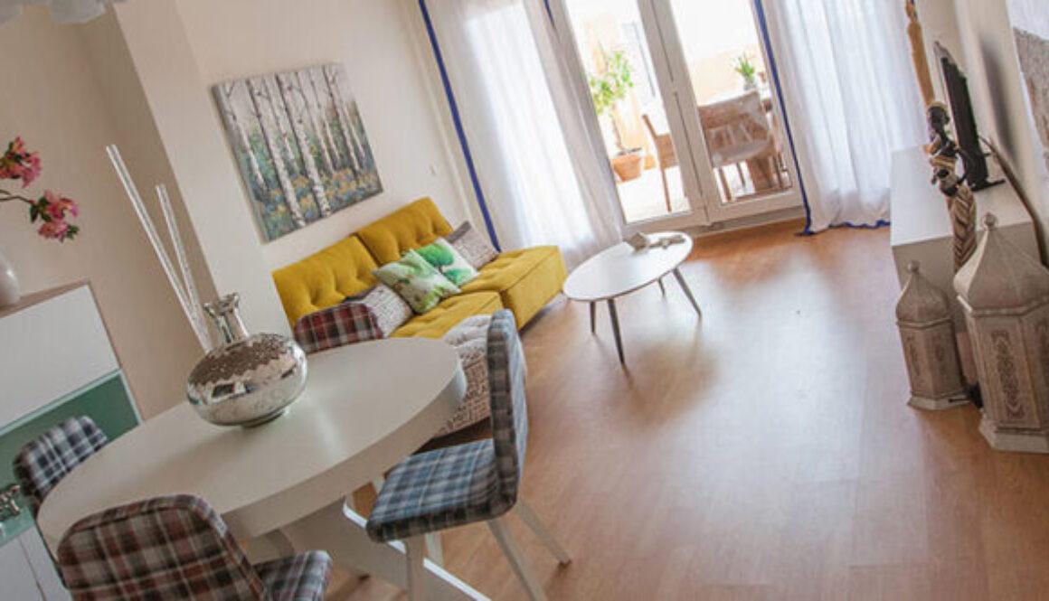 Interiorismo de apartamento en Almerimar