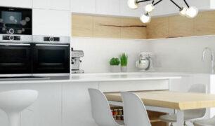 Proyecto de cocina en maderas exclusivas